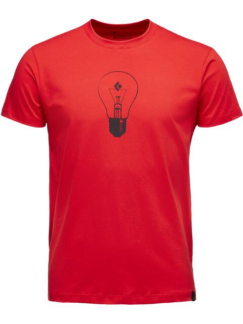Black Diamond Idea - T-shirt manches courtes Homme - rouge